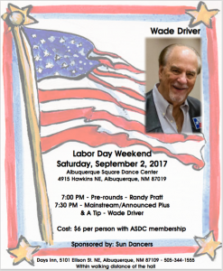 Wade Driver Sept. 2nd