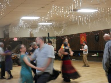 Learn how to square dance step by
