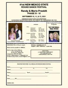 CANCELED: NM Round Dance Festival 2021 @ Albuquerque Square Dance Center
