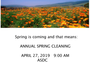 ASDC Annual Cleanup Day