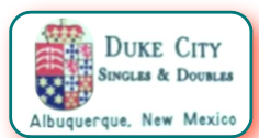Duke City Singles & Doubles Mainstream Class